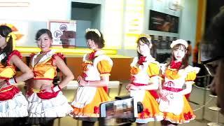 Sagagamer Tv Tgs17 バンダイナムコ コンパニオン Bandainamco Showgirl