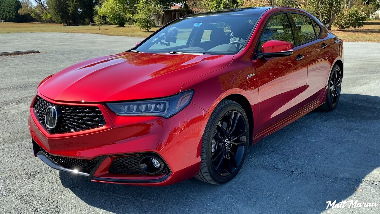 Quick Drive 2020 Acura Tlx Pmc Edition Youtube