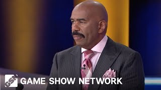 Stolen From Your Bathroom | Family Feud | Game Show Network