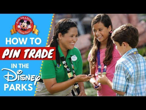 How to Pin Trade in the Disney Parks | Pin Trading 101