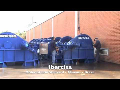 Ibercisa - Order of Erin´s Shipyard from Manaus (Brazil)