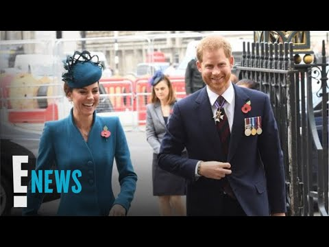Prince Harry Steps Out With Kate Middleton | E! News