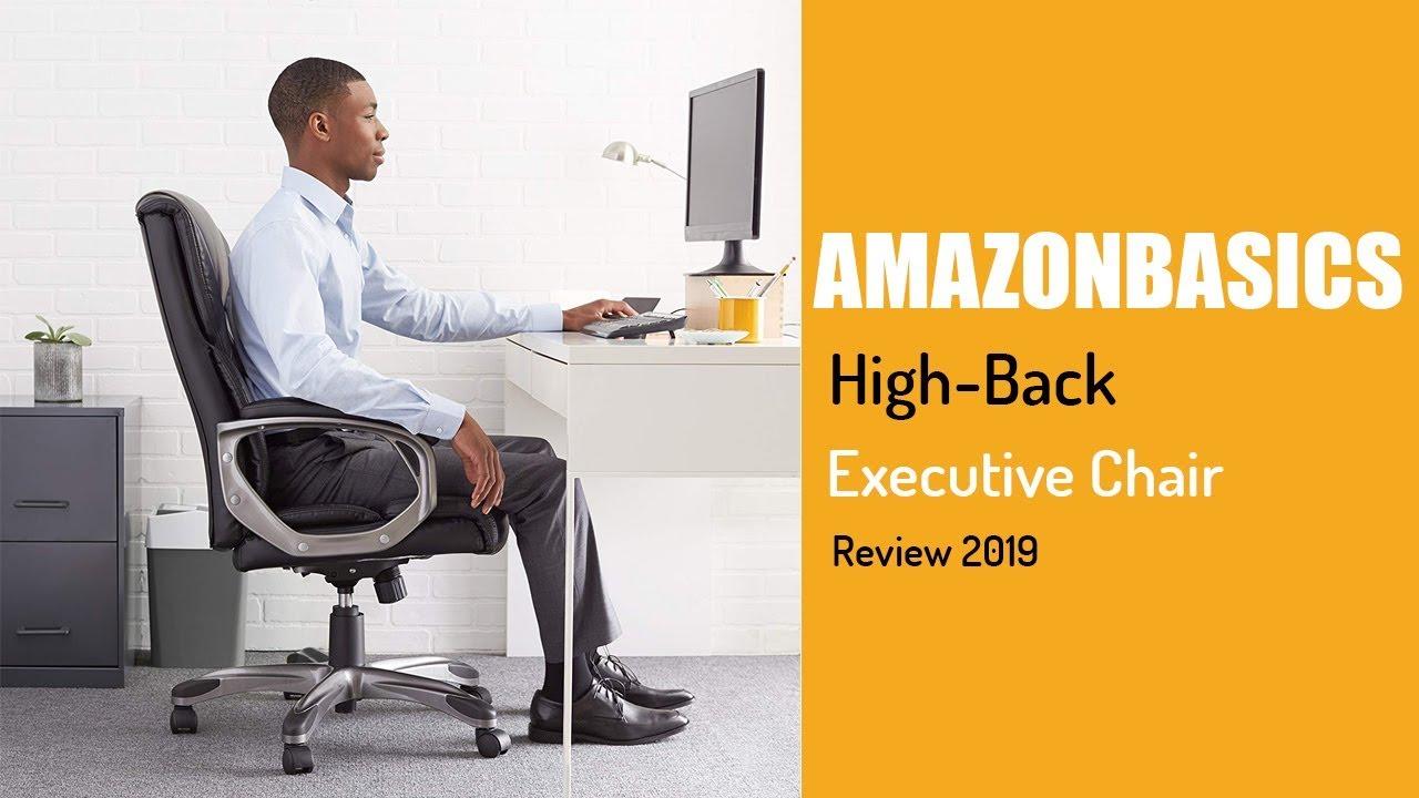AmazonBasics High Back Executive Chair Review