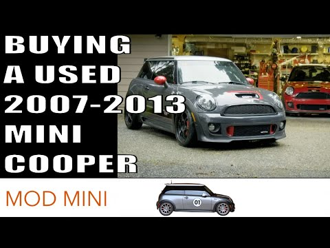 Buying a used 2007-2013 MINI Cooper - things to look for - Gen 2 R56 R55