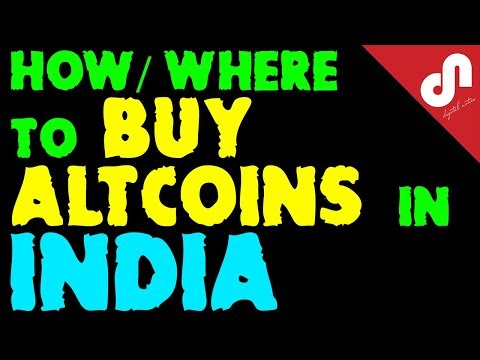 Now Buy Altcoins In India - Buy Altcoin With INR -  [Hindi]