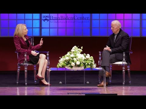 Conversation with President Amy Gutmann & The Honorable Joseph R. Biden, Jr.