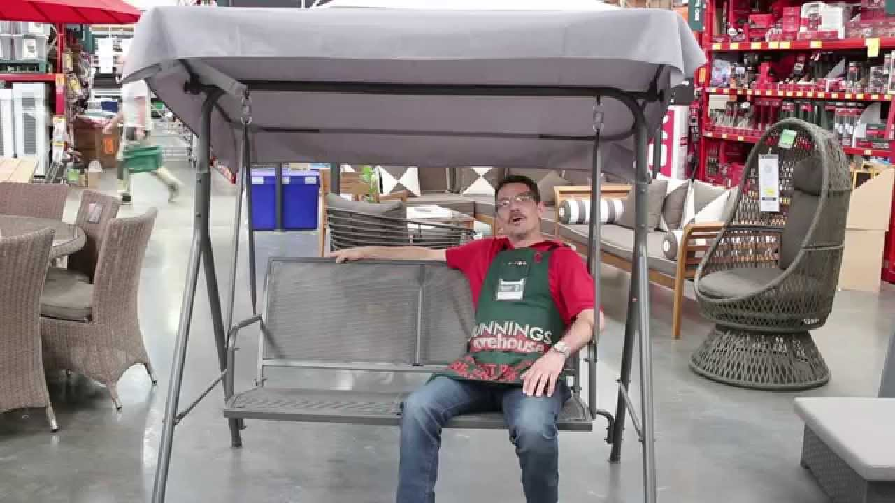 Marquee Two Seater Swing Seat Features And Benefits Youtube