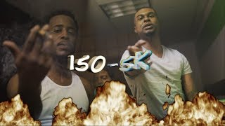 "Myrion Twos ft. Smoke Da D.o - ""150 - 5k"" (Shot By @Yardiefilms)"