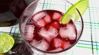 Limonada con Jamaica y Jengibre - Mi Cocina Rápida