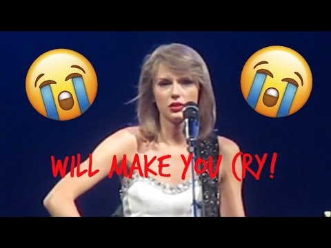 * EMOTIONAL* Taylor Swift Ronan 1989 World...