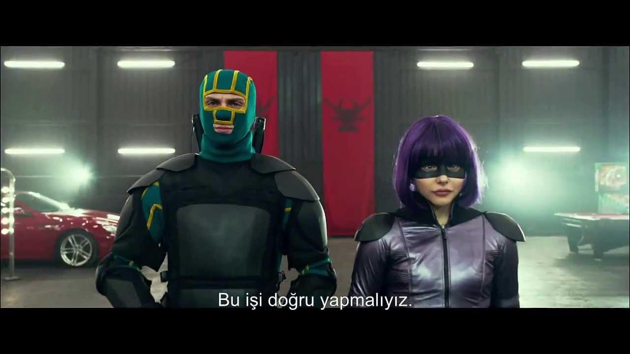 Kick-Ass 2 (Göster Gününü 2) Türkçe Altyazılı Fragman [HD]