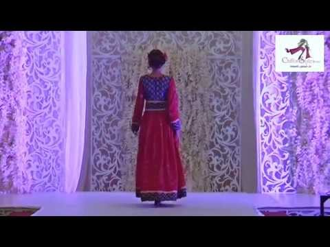 588732f08 عرض ازياء ليلة عمانية - دار شيفون للموضة - فريق روافد عمان - YouTube