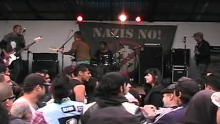 """OCHO BOLAS - """"Lautaro Rock and Roll / 1492"""" (En vivo Nazis no, 28 de abril 2012)"""