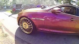 Jaguar XJL on 26s Forgiato