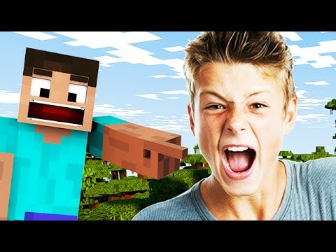 MINECRAFT TROLLING: ANGRY TEENAGER RAGES IN MINECRAFT! from YouTube · Duration:  8 minutes 43 seconds