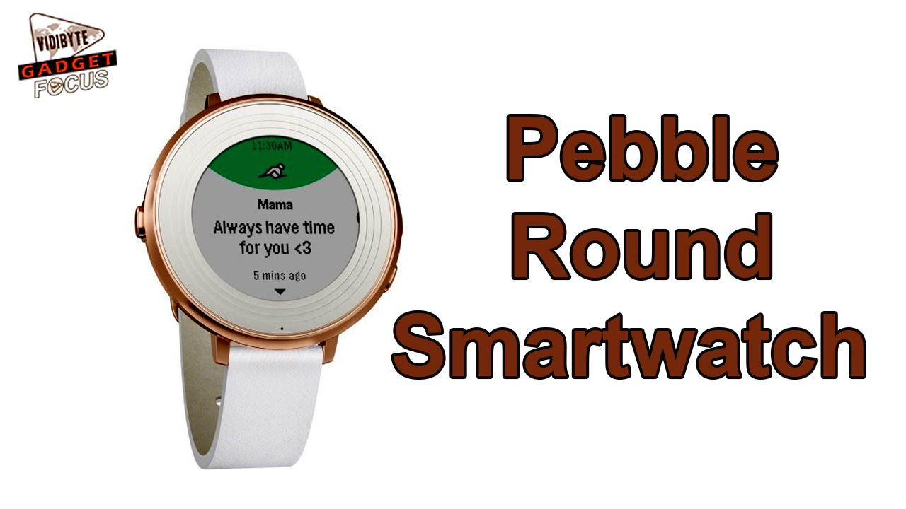Pebble Unveils Round Version of Time Smartwatch