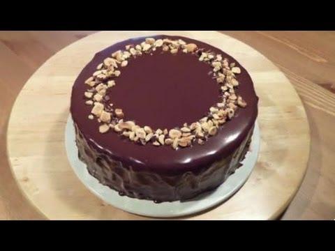 Receta de Tarta de Chocolate y Avellana  Video Resumen