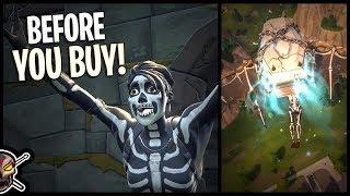 Skull Ranger | Skull Sickle | Crypt Cruiser - Before You Buy - Fortnite