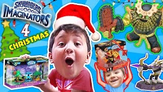 CHRISTMAS MORNING 2016 SKYLANDERS IMAGINATORS PRESENTS HAUL! Crash Bandicoot Villain Unboxes Wave 3!
