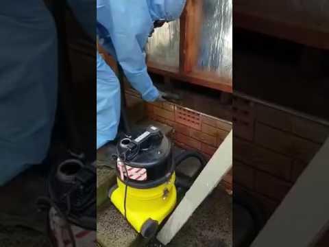 asbestos-vacuum