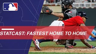 The fastest first-to-home times from 2017, including inside-the-parkers and plays at the plate