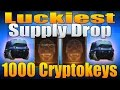 Luckiest Supply Drop Opening – 1000 Cryptokeys (Black Ops 3 100 Supply Drops)