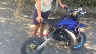 test pit bike 125 2 tempi