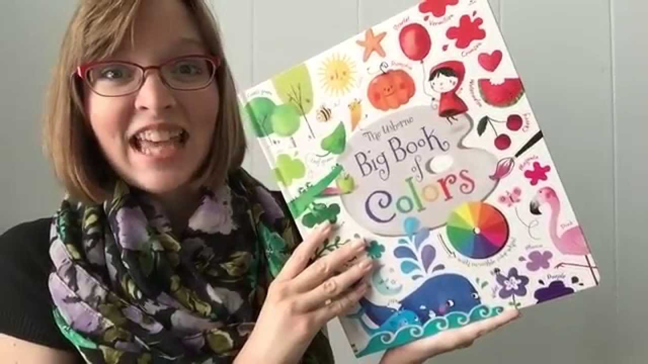 The Usborne Big Book of Colors - YouTube
