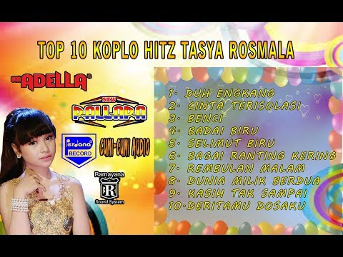TOP HITS  10  LAGU TASYA ROSMALA KOPLO-JAIPONG ENAK DI DENGAR