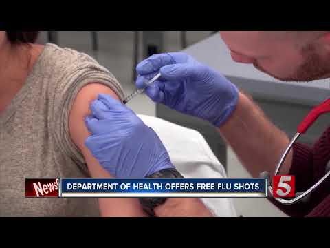 TN Department Of Health Offers Free Flu Shots