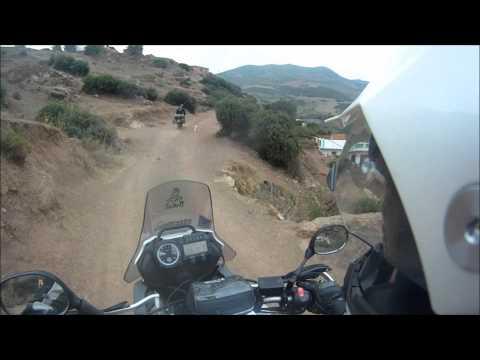 Rif mountains/Morocco on Tenere xt660z