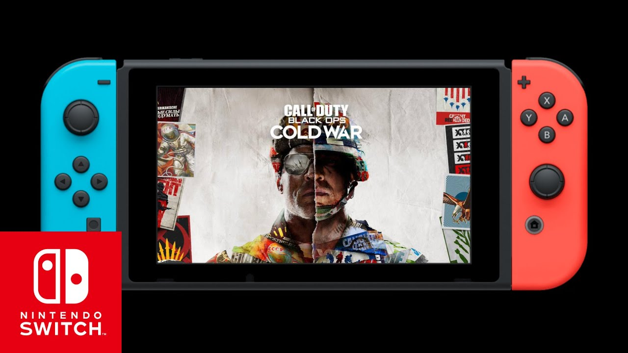 Call of Duty Black Ops Cold War - Trailer - Nintendo Switch