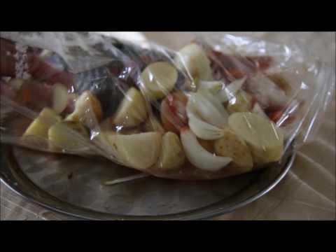 Дима ньюс выпуск 160! Налим в духовке с овощами!