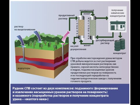 Скважинное подземное выщелачивание урана: история, состояние и перспективы развития. Бойцов А.В., U1