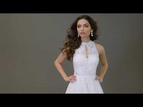 kimkiran-24083-ivory-fit-to-flare-dress