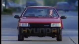 1989 Hyundai Excel vs. BMW 325i