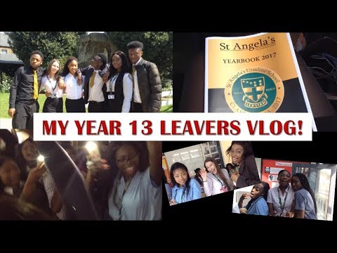 MY YEAR 13 LEAVERS DAY/MASS/PARTY VLOG!