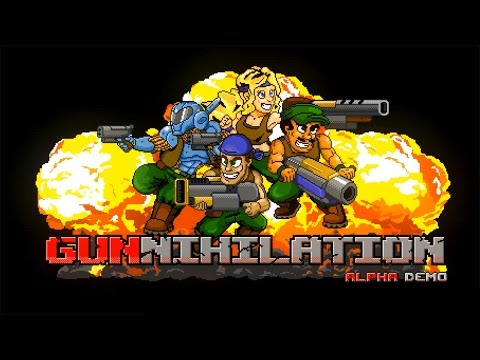 Probando: Gunnihilation (Alfa demo).