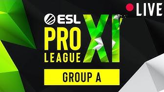 LIVE: Ninjas in Pyjamas vs. Team Vitality - ESL Pro League Season 11 - Group A