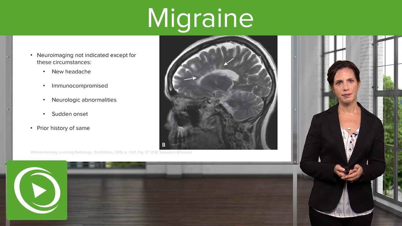 Migraine: Presentation & Diagnosis – Emergency Medicine | Lecturio