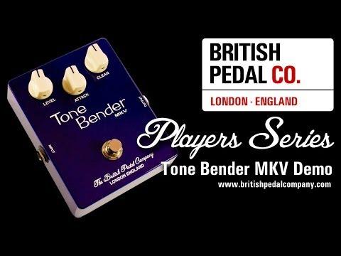 British Pedal Company Players Series Tone Bender MKV Demo