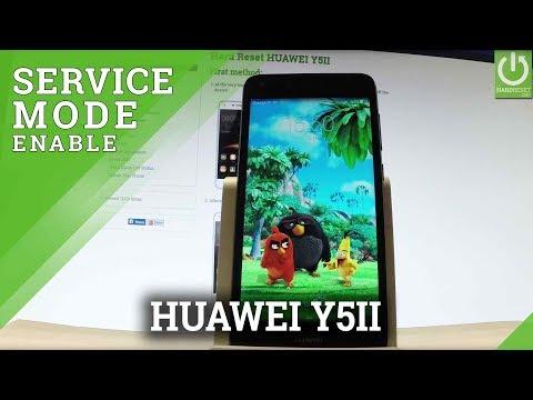 Engineer Mode HUAWEI Y5II - Tips & Tricks / Secret Mode