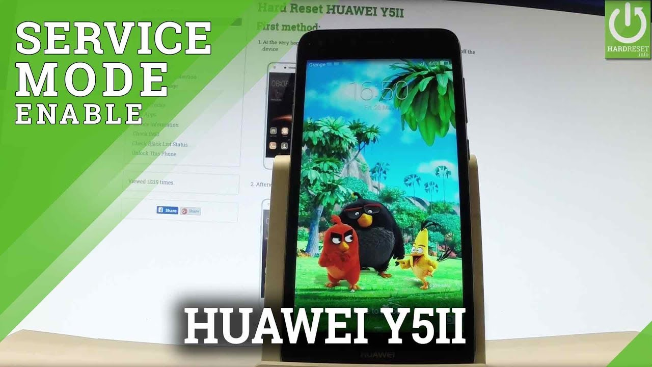 Engineer Mode HUAWEI Y5II - Tips & Tricks / Secret Mode