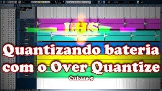 Quantizando bateria com o Over Quantize - Cubase 5 - Português do Brasil