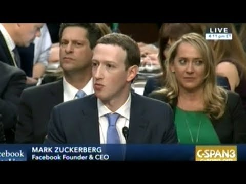 Mark Zuckerberg Answers Senators Questions On Facebook Data Collection On It's Users! Day 1 pt.1