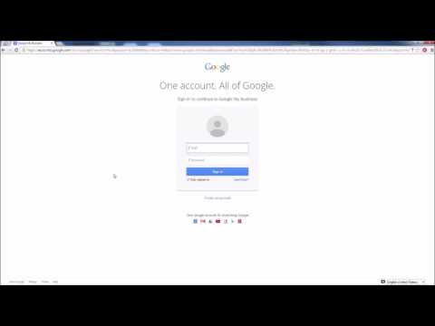 google my business how to get Listed in Google