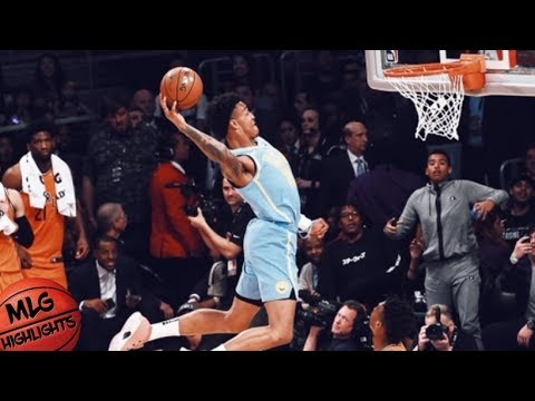 Best Dunks From Rising Stars Game / Feb 16 / 2018 NBA Rising Stars Game