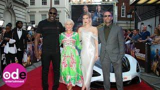 Jason Statham, Idris Elba & Helen Mirren attend UK Fast and Furious Premiere