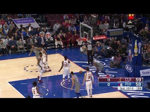 3rd Quarter, One Box Video: Philadelphia 76ers vs. Cleveland Cavaliers