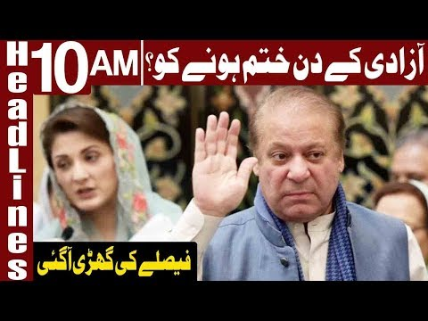 Nawaz Sharif & Maryam Going Back To Jail?...